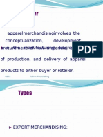 Merchandiser Types