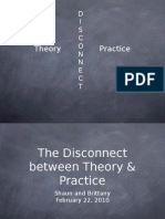 Presentation The Disconnect Between Theory and Practice
