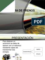 Sistema de Frenos - INGENIERÍA DE TRANSPORTE