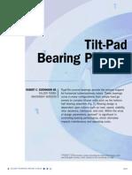 Tilting Pad Bearing Preload
