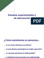 Estudios Experimental