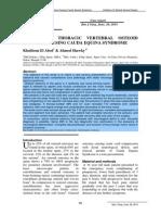 Dr.Khaldoun Osteoid Osteoma Case Report
