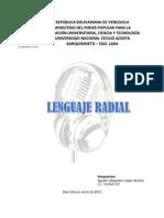 Lenguaje Radial