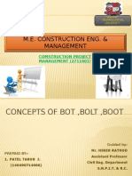 Concepts of Bot,Bolt,Boot