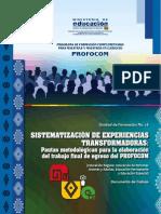 Proyecto Profocom Bolivia