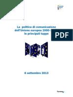 Politica Comunicazione Ue