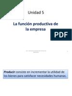 Unidad 5_funcion Productiva