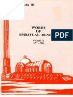 Words of Spiritual Benefit Vol 4