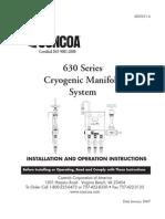 Cryogenic Manifold