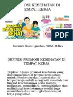 Promosi Kesehatan Di Tempat Kerja