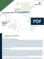 140901 OGC Corporate Presentation September North America FINAL