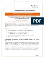 Press Release & Presentation [Company Update]