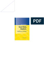 Hector Guerrero-Excel Data Analysis_ Modeling and Simulation-Springer (2010)