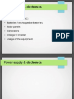 Power Supply Electronics