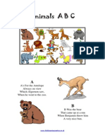 Animals, English for children