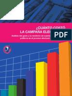 Cuánto Costó la Campaña Electoral 2011 - Acción Ciudadana