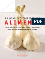 La Mini Encyclopedie Des Aliments