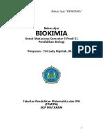Bahan Ajar Biokimia