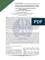 Analisis Gugus Fungsi Dengan Menggunakan Spektroskopi Ft Ir Dari Variasi Kitin Sebagai Substrat Kitinase Bakteri Pseudomonas Sp Tnh 54 Analysis Func