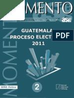 Guatemala, Proceso Electoral 2011 - ASIES