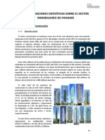 6. Consideraciones Específicas Sobre El Sector Inmobiliario de Panamá