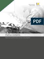 Coolants - Rhenus