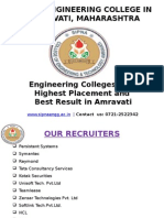 Engineering Colleges With Highest Placement and Best Result in Amravati