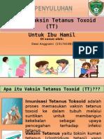 Penyuluhan Vaksin Tetanus