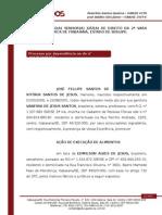 Inicial - Execução de Alimentos - VANESSA DE JESUS SANTOS - Abril e Maio.doc