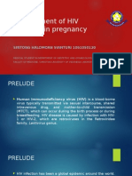 Pregnancy Treatment and Labour Management in HIV Infected Women (Sintong- 1061050120