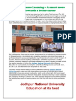 Jodhpur National University- Distance Education