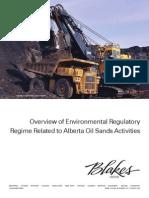2010 Blakes Environmental Regulations Alberta Oil Sands En