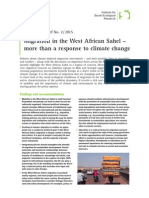 Migration in the West African Sahel – more than a response to climate change