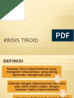 krisis tiroid