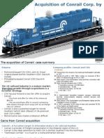 Conrail Case Solution_Group 8