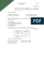 Acid Base Practice Sheet