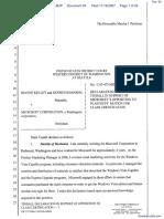 Kelley v. Microsoft Corporation - Document No. 93