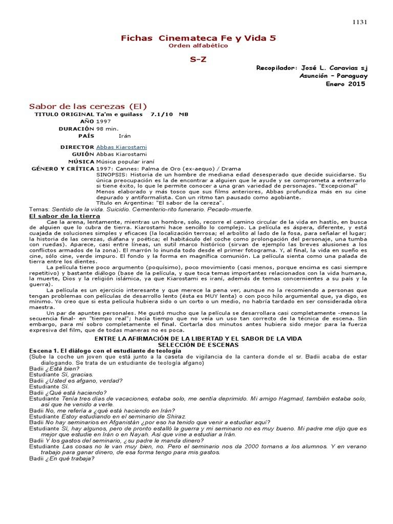 CARAVIAS, J. - Cinemateca Fe y Vida 5 - Fichas S-Z.docx