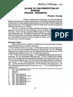 Introduccion a La Prajñaparamita