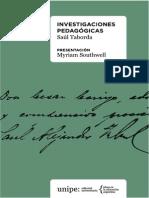 Investigaciones Pedagogicas de Saul Taborda