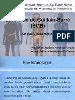 Síndrome de Guillain-Barré (SGB) - Adriana