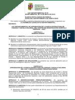 Ley Departamental 97