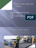Aditivo Para Mezsdclas Tibias Como Facilitador - Marcelo a. Martinez