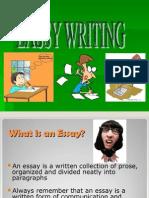 Presentation on EASSY WRITING
