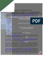Evolucion Historica de Los Gobiernos Regionales