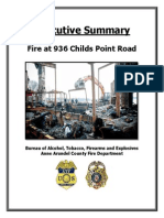 Executive Summary - Childs Point Rd Fire
