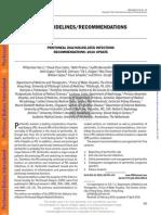 Guias infecciones en dialisis peritoneal