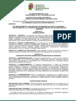 Ley Departamental 92