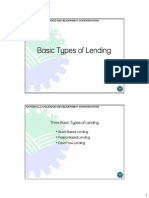 Basic Types of Lending