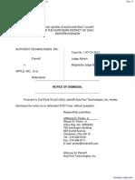 AutoText Technologies, Inc. v. Apple, inc. et al - Document No. 4